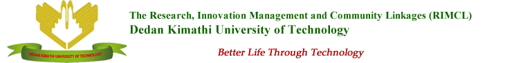 The Research, Innovation Management and Community Linkages (RIMCL)